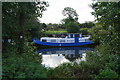 ST6768 : Boat moored on the River Avon by Bill Boaden