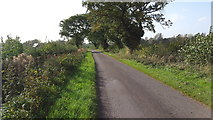 SP2594 : Minor road in the country by Peter Mackenzie