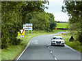 C9037 : Cloyfin Road approaching Junction with B62 by David Dixon