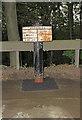 SJ7075 : Milepost, Plumley by MilestoneSociety