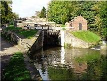 SE1039 : Five rise locks at Bingley by Ashley Dace