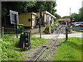 SJ9557 : Approaching Rudyard Station on the Rudyard and Leek Railway by Chris Allen