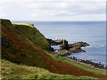 C9444 : Causeway Coast, Portnaboe and The Camel's Back by David Dixon