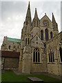 SU8604 : East side of Chichester Cathedral by Paul Gillett