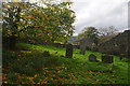 SD9186 : Graveyard, Stalling Busk by Ian Taylor