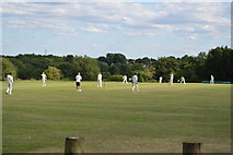 SU8495 : Cricket on Downley Common by N Chadwick