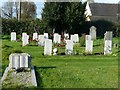 SK1930 : Commonwealth War Graves, Scropton churchyard extension by Alan Murray-Rust