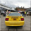SJ9494 : Ford Mustang CAZ 144 (rear view) by Gerald England
