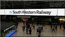 TQ3179 : New train operating company at Waterloo by David Martin