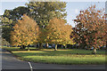 SE1485 : East Witton village green by Malcolm Neal