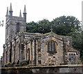 NU1034 : St Mary's church, Belford by Bill Harrison