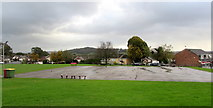 ST3091 : Malpas Park Primary School sports area, Malpas, Newport by Jaggery