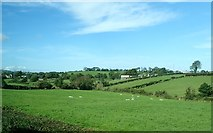 J2333 : Farmland east of McComb's Bridge over the Upper Bann by Eric Jones