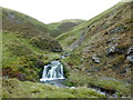 NS8908 : Small waterfall on the Carron Water by Alan O'Dowd