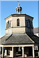 NZ0516 : The Market cross upper storey by Bob Harvey