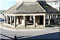 NZ0516 : The Market cross: lower storey by Bob Harvey