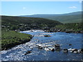 NY8128 : The River Tees above Cauldron Snout (2) by Mike Quinn