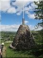 SJ0843 : Pen-y-Pigyn memorial by Stephen Craven