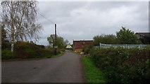 SP4476 : Near Church Lawford by Peter Mackenzie