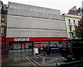 ST3188 : Iceland closed for reburbishment, Commercial Street, Newport  by Jaggery
