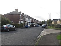 NZ3264 : Croft Terrace, Jarrow by Graham Robson