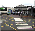 ST5075 : Entrance to the main building at Gordano Services, Portbury, North Somerset by Jaggery
