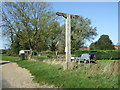 TF8541 : Missing sign for the Lord Nelson, Burnham Thorpe by JThomas