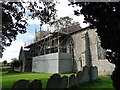 TG0805 : Carleton Forehoe St. Mary's church by Adrian S Pye