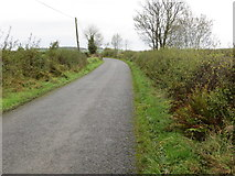 R7924 : Road from Lyra (Galbally) to Knockaunnacurraha and Curraghkilbran by Peter Wood