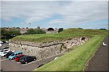 NT9953 : Cumberland Bastion (City walls, Berwick-upon-Tweed) by Bill Harrison
