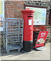 TF7222 : George V postbox outside Grimston Post Office by JThomas