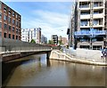 SJ8598 : Footbridge over the Rochdale Canal by Gerald England