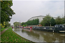 SJ8934 : The Trent and Mersey Canal, Stone by Tim Heaton