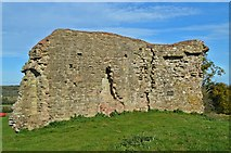 SO4430 : Remains of the Keep, Kilpeck Castle by Philip Pankhurst