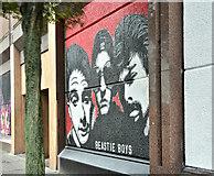 J3374 : Street art, Donegall Street, Belfast - October 2017(1) by Albert Bridge
