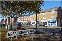 TQ1185 : Corner of Great Central Avenue by Des Blenkinsopp