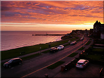 NZ8911 : Whitby at Sunrise by David Dixon