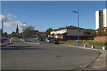 SJ3290 : Victoria Place and Seacombe View by Mark Anderson