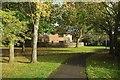 ST5776 : Green space, Henleaze by Derek Harper