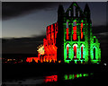 NZ9011 : Illuminated Abbey by David Dixon