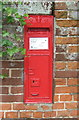 TG2705 : Victorian postbox on Kirby Road, Kirby Bedon by JThomas
