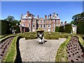 SJ0478 : Parterre at Bodrhyddan Hall by Gerald England