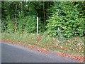 SU9212 : Fingerpost in Droke Lane by Peter Holmes