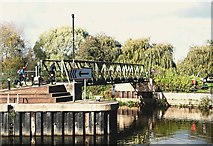 SK7953 : Town Lock Vicinity, Newark on Trent, Notts. by David Hallam-Jones
