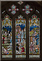 SP0343 : Chancel stained glass window, All Saints' church, Evesham by Julian P Guffogg