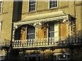 ST5773 : Balcony, Lansdown Place, Bristol by Derek Harper