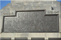 SX4753 : Inscription, Naval Memorial by N Chadwick