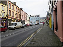 S0524 : Castle Street in Cahir by Peter Wood