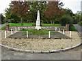 TF9126 : Colkirk War Memorial and Village Green by G Laird