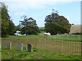 TR3550 : Paddock behind Ripple churchyard by Robin Webster
